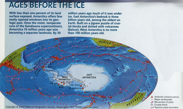Pre Ice Age World Map.Magnetism Mountains And Moving Plates Tales Of A Polar Geologist