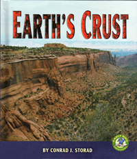 Earth's crust book cover image