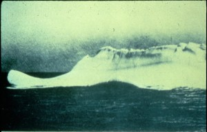 titanic's iceberg photo