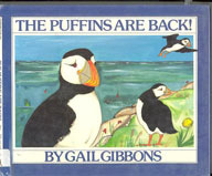 Puffins are back book cover image