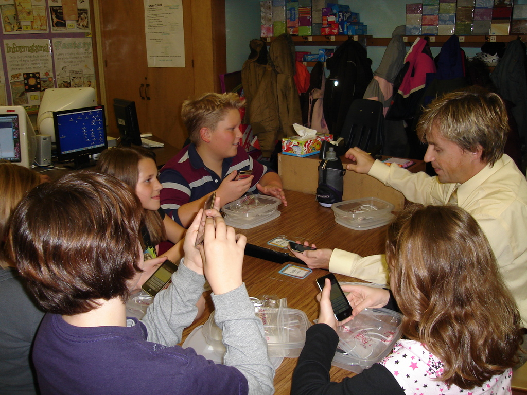 Elementary Classrooms Of The Future ~ Touching the future using ipod touch devices in