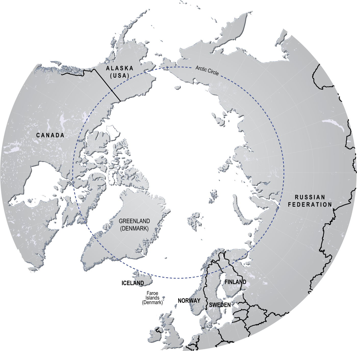 Arctic Circle On World Map.Where Does The Arctic Begin End Beyond Penguins And Polar Bears
