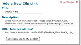 Add a New Clip
